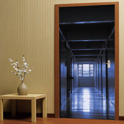 Buy 3D Self Adhesive Silent Corridor Aisle Door Sticker Home Decal, COLORMIX, Home & Garden, Home Decors, Wall Art, Wall Stickers for $18.40 in GearBest store