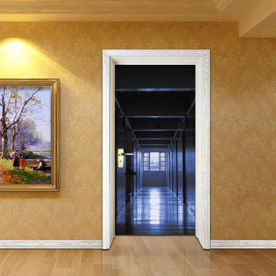 3D Self Adhesive Silent Corridor Aisle Door Sticker Home DecalWall Stickers<br>3D Self Adhesive Silent Corridor Aisle Door Sticker Home Decal<br><br>Art Style: Plane Wall Stickers<br>Artists: Others<br>Color Scheme: Others<br>Function: 3D Effect, Decorative Wall Sticker<br>Material: Vinyl(PVC)<br>Package Contents: 2 x Door Sticker<br>Package size (L x W x H): 40.00 x 5.00 x 5.00 cm / 15.75 x 1.97 x 1.97 inches<br>Package weight: 0.4500 kg<br>Product weight: 0.4000 kg<br>Quantity: 2<br>Subjects: 3D,Architecture,Landscape<br>Suitable Space: Bedroom,Dining Room,Game Room,Garden,Kids Room,Kids Room,Living Room,Study Room / Office<br>Type: 3D Wall Sticker