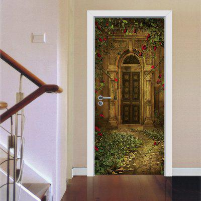 European-style Villa Door Sticker Home DecalWall Stickers<br>European-style Villa Door Sticker Home Decal<br><br>Art Style: Plane Wall Stickers<br>Artists: Others<br>Color Scheme: Others<br>Function: 3D Effect, Decorative Wall Sticker<br>Material: Vinyl(PVC)<br>Package Contents: 2 x Door Sticker<br>Package size (L x W x H): 40.00 x 5.00 x 5.00 cm / 15.75 x 1.97 x 1.97 inches<br>Package weight: 0.4500 kg<br>Product weight: 0.4000 kg<br>Quantity: 2<br>Subjects: 3D,Architecture,Landscape,Leisure,Romance,Still Life,Vintage<br>Suitable Space: Bedroom,Cafes,Dining Room,Garden,Hotel,Living Room,Office,Study Room / Office<br>Type: 3D Wall Sticker