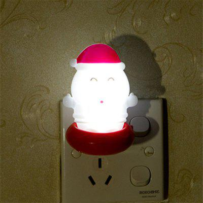Creative Santa spínač LED Night Lights White Light