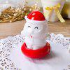 Creative Santa Switch LED Night Lights White Light - RED