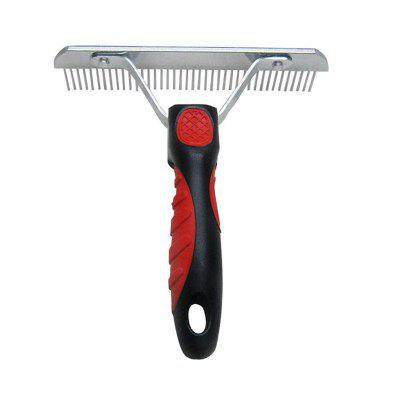Pet Dog Cat Hair Grooming Trimmer CombOther Pet Supplies<br>Pet Dog Cat Hair Grooming Trimmer Comb<br><br>For: Dogs<br>Material: Stainless Steel<br>Package Contents: 1 x Dog Grooming Brush<br>Package size (L x W x H): 20.00 x 15.00 x 5.00 cm / 7.87 x 5.91 x 1.97 inches<br>Package weight: 0.1800 kg<br>Product size (L x W x H): 18.00 x 16.00 x 4.00 cm / 7.09 x 6.3 x 1.57 inches<br>Product weight: 0.1500 kg<br>Type: Others