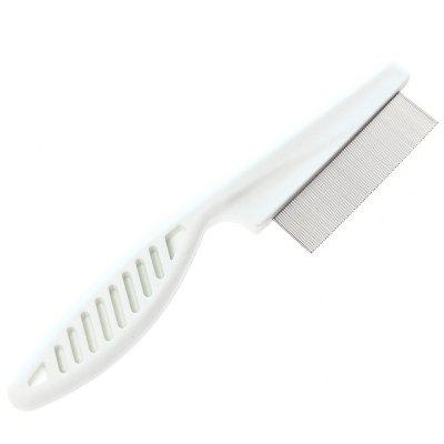 Pet Dog Cat Hair Grooming Trimmer Comb BrushOther Pet Supplies<br>Pet Dog Cat Hair Grooming Trimmer Comb Brush<br><br>For: Cats, Dogs<br>Material: Stainless Steel<br>Package Contents: 1 x Dog Comb<br>Package size (L x W x H): 15.00 x 5.00 x 5.00 cm / 5.91 x 1.97 x 1.97 inches<br>Package weight: 0.0150 kg<br>Product size (L x W x H): 14.00 x 3.00 x 1.20 cm / 5.51 x 1.18 x 0.47 inches<br>Product weight: 0.0100 kg