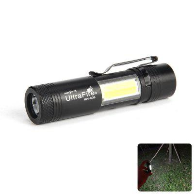 UltraFire MINI - COB 250 Lumens XPE 4 Gear Clip Light Flashlight