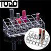 TODO Desktop Lipstick Holder Clear Makeup Jewelry Cosmetic Storage - CLEAR
