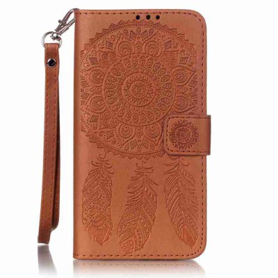 Buy Campanula Embossing PU Phone Case for Samsung Galaxy J5, BROWN, Mobile Phones, Cell Phone Accessories, Samsung Accessories, Samsung J Series for $8.59 in GearBest store