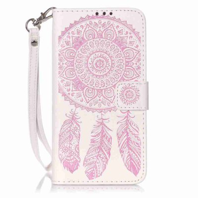 Buy Campanula Embossing PU Phone Case for Samsung Galaxy J5, PINK AND WHITE, Mobile Phones, Cell Phone Accessories, Samsung Accessories, Samsung J Series for $8.59 in GearBest store