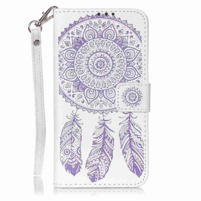 Buy Campanula Embossing PU Phone Case for Samsung Galaxy J5, WHITE + PURPLE, Mobile Phones, Cell Phone Accessories, Samsung Accessories, Samsung J Series for $8.59 in GearBest store
