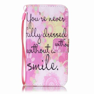 Buy PINK Painted PU Phone Case for iPhone 6 / 6S for $4.49 in GearBest store
