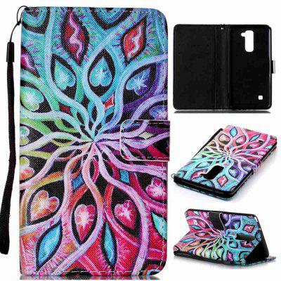 Buy IVY Painted PU Phone Case for LG LS775 / STYLUS2 for $5.39 in GearBest store