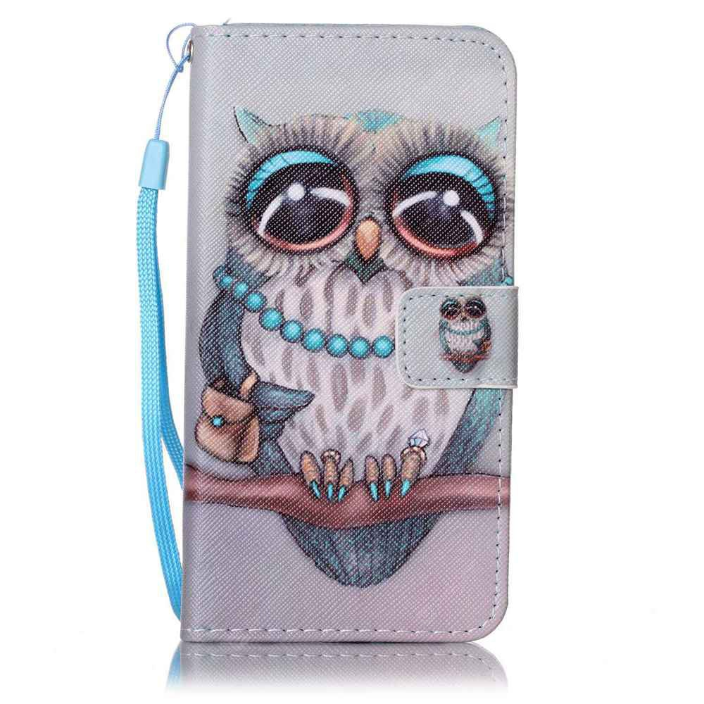 GRAY Painted PU Phone Case for Samsung Galaxy A5