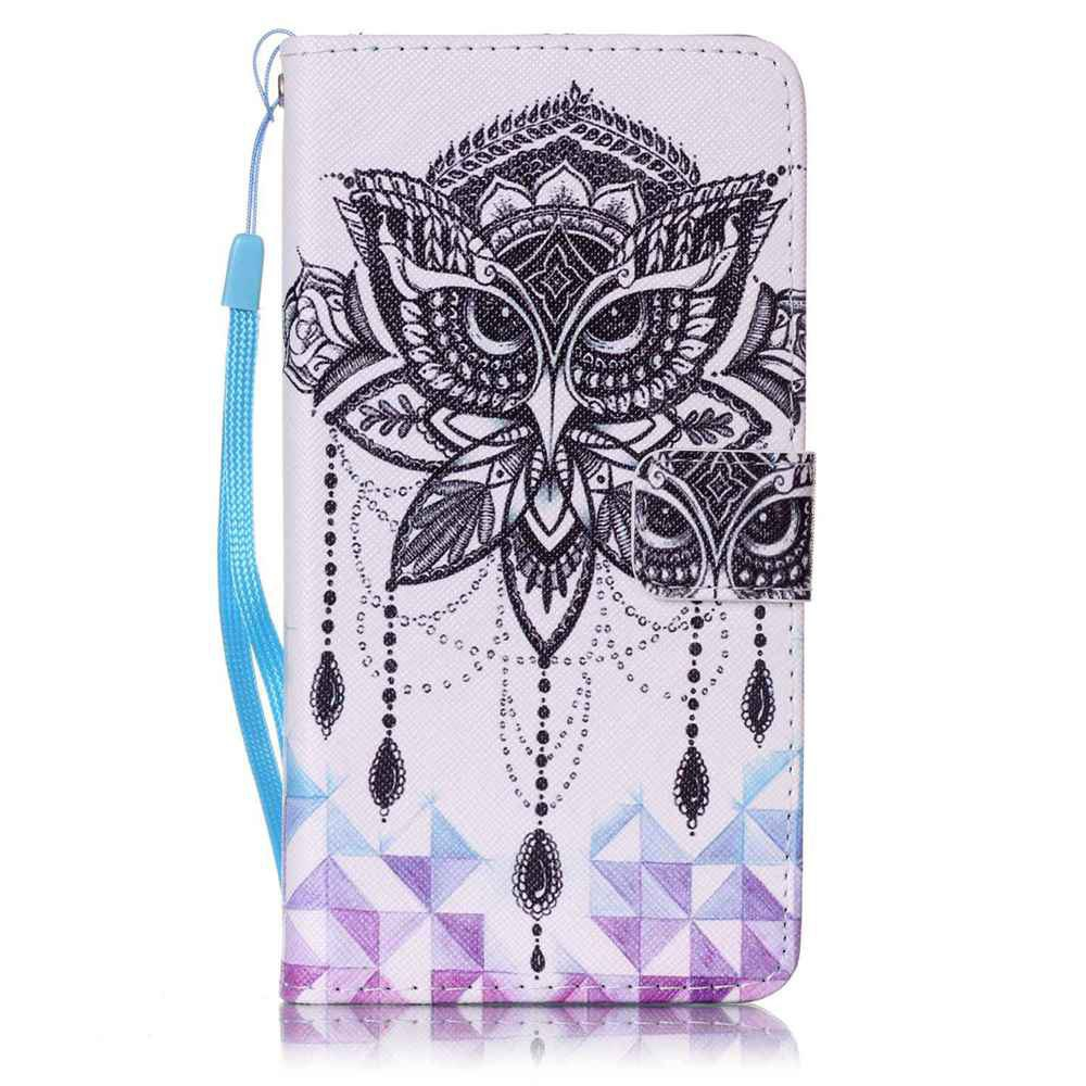 Painted PU Phone Case for Samsung Galaxy J7