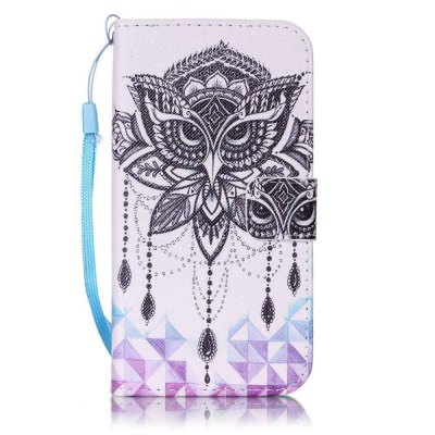 Painted PU Phone Case for Samsung Galaxy S5