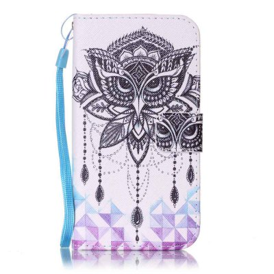 Painted PU Phone Case for Samsung Galaxy S6 Edge
