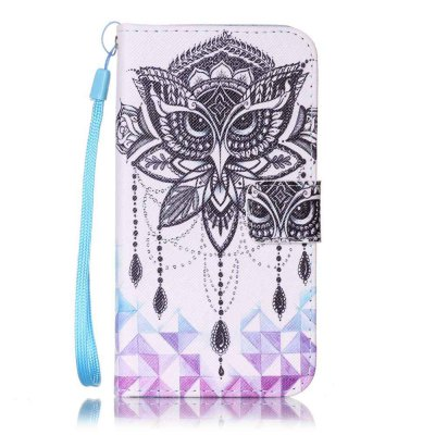 Painted PU Phone Case for Samsung Galaxy S7