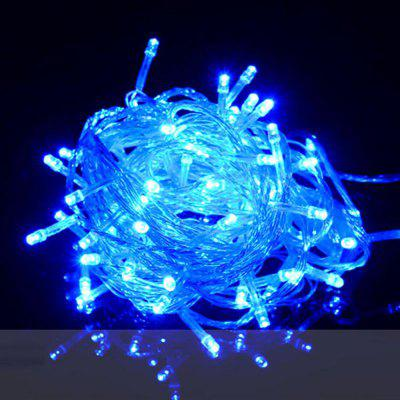 Buy ZDM 1000CM 100PCS LED White String Decoration Light For Christmas Party Wedding EU Plug AC220V BLUE LIGHT for $5.66 in GearBest store