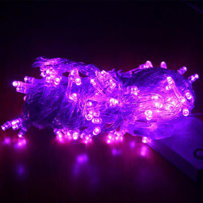 Buy ZDM 1000CM 100PCS LED White String Decoration Light For Christmas Party Wedding EU Plug AC220V PURPLE LIGHT for $5.66 in GearBest store