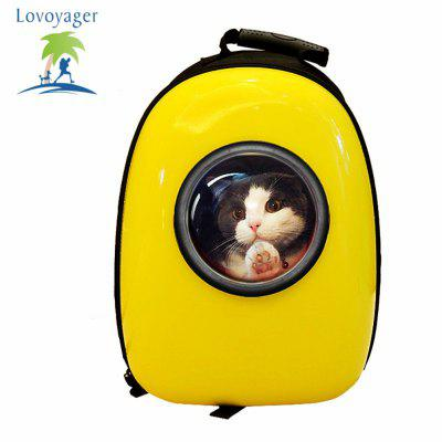 Lovoyager VB16615 Outdoor Travel Air Space Bubble Pet Carrier Bag Breathable Portable Dog Cat BackpackCat Beds &amp; Furniture<br>Lovoyager VB16615 Outdoor Travel Air Space Bubble Pet Carrier Bag Breathable Portable Dog Cat Backpack<br><br>Brand: Lovoyager<br>For: Cats, Dogs<br>Functions: Waterproof<br>Package Contents: 1 x Pet Bag<br>Package size (L x W x H): 45.00 x 35.00 x 32.00 cm / 17.72 x 13.78 x 12.6 inches<br>Package weight: 2.0000 kg<br>Product size (L x W x H): 42.00 x 32.00 x 29.00 cm / 16.54 x 12.6 x 11.42 inches<br>Product weight: 1.5000 kg<br>Season: All seasons<br>Type: Carriers