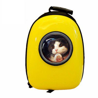 Buy YELLOW Lovoyager VB16615 Outdoor Travel Air Space Bubble Pet Carrier Bag Breathable Portable Dog Cat Backpack for $48.19 in GearBest store