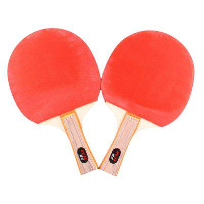 REIZ 2301 Short or Long Handle Shake-Hand Table Tennis Set 2 Rackets + 3 Balls Ping Pong PaddleTeam Sports<br>REIZ 2301 Short or Long Handle Shake-Hand Table Tennis Set 2 Rackets + 3 Balls Ping Pong Paddle<br><br>Brand: REIZ<br>Package Content: 2 x Table Tennis Racket, 3 x Table Tennis Ball<br>Package size: 31.00 x 19.00 x 4.50 cm / 12.2 x 7.48 x 1.77 inches<br>Package weight: 0.4000 kg<br>Product size: 29.00 x 17.00 x 2.50 cm / 11.42 x 6.69 x 0.98 inches<br>Product weight: 0.3900 kg