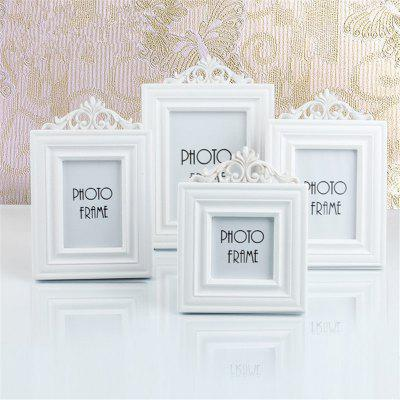 European Style Solid Color Wooden Decorative Home Photo Frame