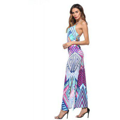 Womens Fashion Sexy Lace Up Printing DressMaxi Dresses<br>Womens Fashion Sexy Lace Up Printing Dress<br><br>Dresses Length: Ankle-Length<br>Elasticity: Micro-elastic<br>Embellishment: Backless<br>Fabric Type: Batik<br>Material: Polyester, Cotton Blend<br>Neckline: Spaghetti Strap<br>Package Contents: 1 x Dress<br>Pattern Type: Print<br>Season: Summer, Fall<br>Silhouette: Beach<br>Sleeve Length: Sleeveless<br>Style: Sexy &amp; Club<br>Weight: 0.2500kg<br>With Belt: No