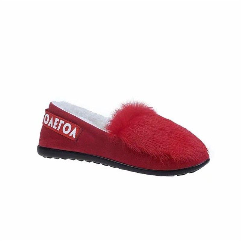 Bottomed Bottomed Shallow Mouth Set Foot Shoes