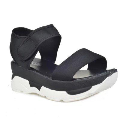 JM-F8 Leisure All-match Slip Slope with Thick Bottom Platform Sandals Fish Mouth