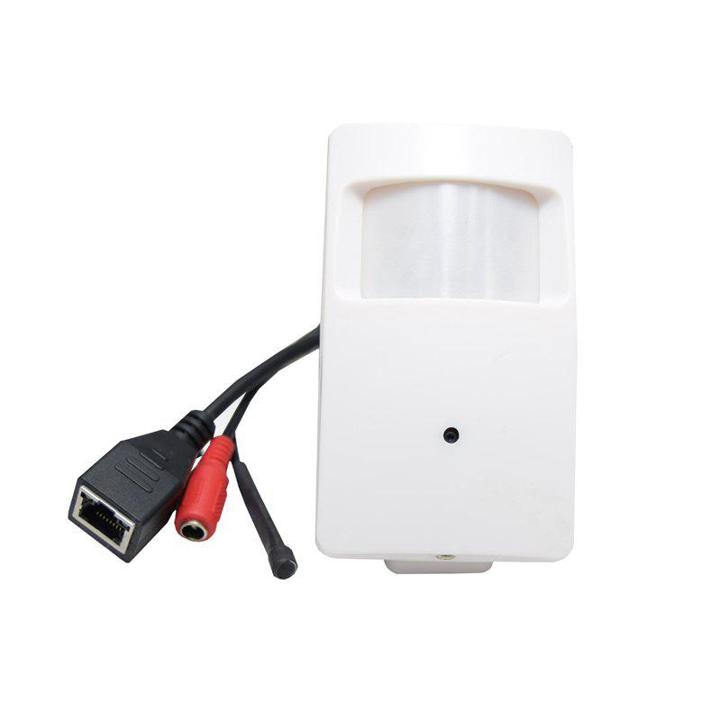 1080P Wifi Audio 2.0 Megapixel Pir Style Mini IP Camera 3.7MM Pinhole Lens External Microphone