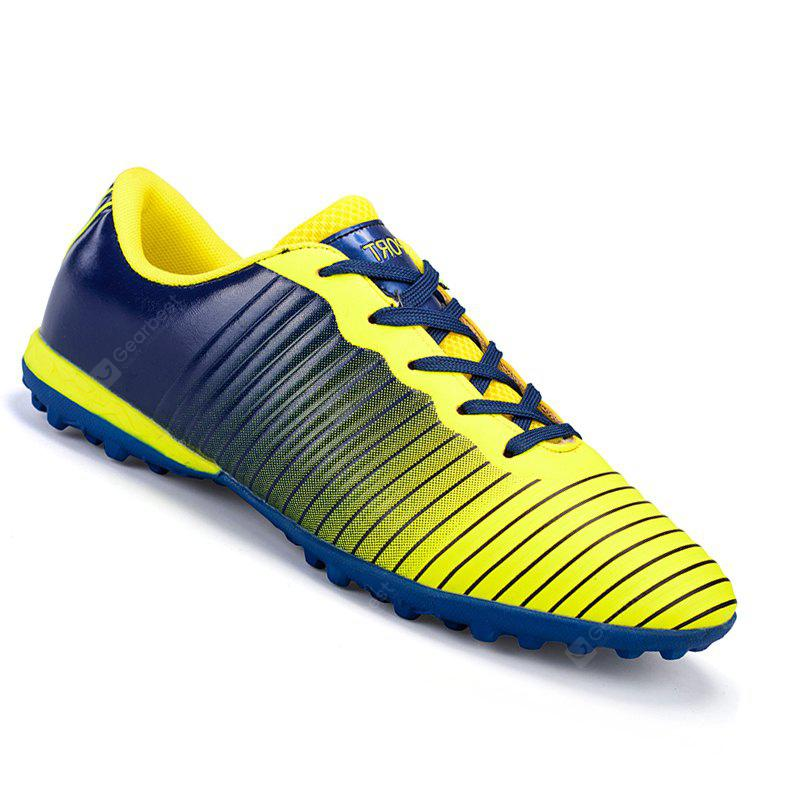 discount sneakernews Youth Men PU Cheap Soccer Football Shoes Comfortable Trainers Athletic Shoes 32-44 - Orange 37 buy cheap extremely clearance fake ajdPr2o2
