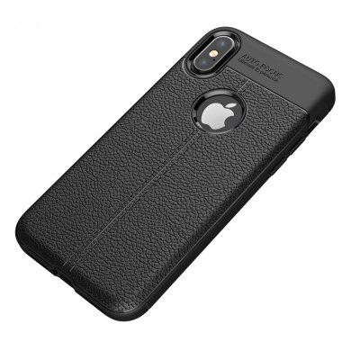 Buy Case for Apple iPhone X Shockproof Back Cover Solid Color Soft TPU, BLACK, Mobile Phones, Apple Accessories, iPhone Accessories, iPhone Cases/Covers for $5.08 in GearBest store