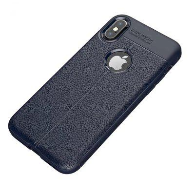 Buy Case for Apple iPhone X Shockproof Back Cover Solid Color Soft TPU, DEEP BLUE, Mobile Phones, Apple Accessories, iPhone Accessories, iPhone Cases/Covers for $5.08 in GearBest store