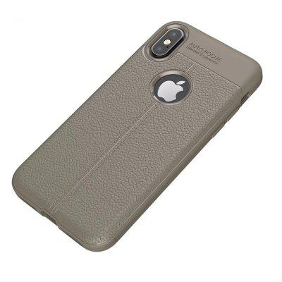 Buy Case for Apple iPhone X Shockproof Back Cover Solid Color Soft TPU, GRAY, Mobile Phones, Apple Accessories, iPhone Accessories, iPhone Cases/Covers for $5.08 in GearBest store