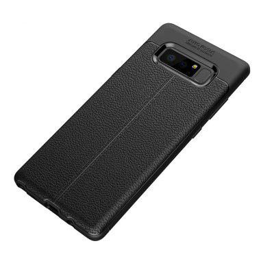 Case for Samsung Galaxy Note 8 Plus Shockproof Back Cover Solid Color Soft TPU