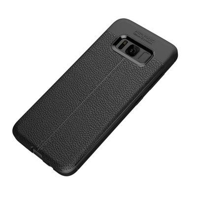 Buy BLACK Case for Samsung Galaxy S8 Plus Shockproof Back Cover Solid Color Soft TPU for $4.45 in GearBest store