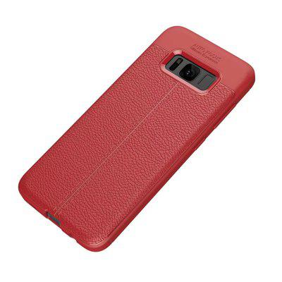 Buy RED Case for Samsung Galaxy S8 Plus Shockproof Back Cover Solid Color Soft TPU for $4.45 in GearBest store