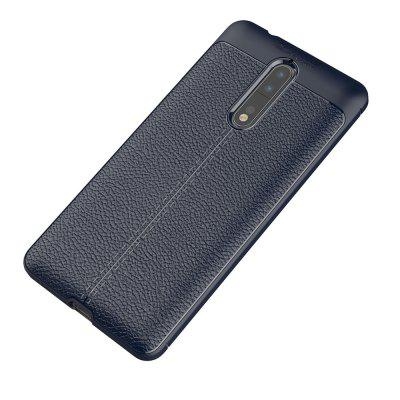 Buy DEEP BLUE Case for Nokia 8 Shockproof Back Cover Solid Color Soft TPU for $4.52 in GearBest store