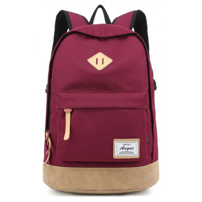 Buy RED AUGUR Men Women Backpack School for Teenager College Waterproof Oxford Travel Laptop Bag for $26.63 in GearBest store