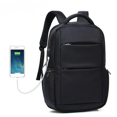 AUGUR Brand Backpacks USB Charging Laptop Men Teenagers Travel ...