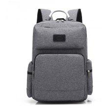 AUGUR 2017 Fashion Men Backpack Oxford High Quality Laptop Notebook School College Students Bag
