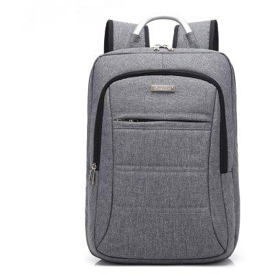 Buy GRAY AUGUR Fashion Brand Men Women Backpack Laptop Notebook Travel School College for Teenager Students Bag for $34.01 in GearBest store