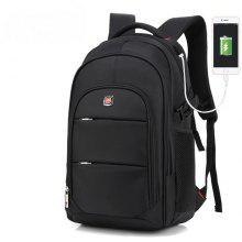 AUGUR Men Backpacks 17INCH Laptop USB Waterproof Travel Bag Women Student Back To School Bags For Teenagers only $33.55 with coupon