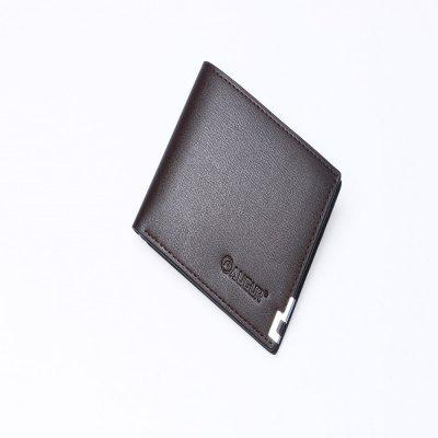AUGUR 2017 New Brand Short Men Wallets PU Leather Male Purse Card Holder Fashion Zipper Coin BagWallets<br>AUGUR 2017 New Brand Short Men Wallets PU Leather Male Purse Card Holder Fashion Zipper Coin Bag<br><br>Closure Type: Open<br>Closure Type:: No Zipper<br>Gender: For Men<br>Height: 2cm<br>Length(CM): 8cm<br>Main Material: PU<br>Material Composition:: PU Leather<br>Package Contents: 1 x Wallet<br>Package size (L x W x H): 10.00 x 3.00 x 3.00 cm / 3.94 x 1.18 x 1.18 inches<br>Package weight: 0.1300 kg<br>Pattern Type: Others<br>Product weight: 0.1200 kg<br>Style: Fashion<br>Style:: Casual<br>Wallets Type: Money Clip<br>Wallets:: Standard Wallets<br>Width: 1cm