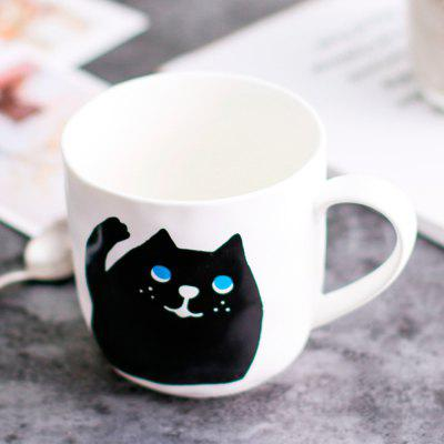 330ML Cartoon Persian Cat Mug