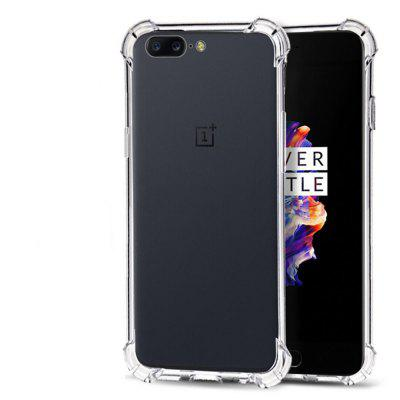 Buy TRANSPARENT Extreme Heavy Duty Protective Soft Rubber TPU Bumper Case Anti-Scratch Shockproof Rugged Protection Clear Transparent Back Cover for Oneplus 5 for $2.06 in GearBest store