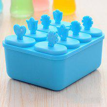 DIHE Frozen Square Plastic Ice Cream Tool Popsicle Maker Kitchen DIY Mold