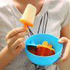 DIHE Round Plastic Ice Cream Tool Popsicle Maker  Kitchen DIY Mold - BLUEBELL