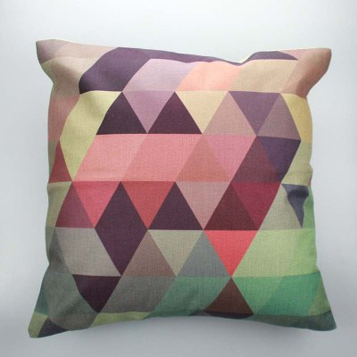 Design A Pillowcase Online: DIHE Simple Style Geometric Design Pattern Pillow Case Cushion    ,
