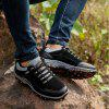 Outdoor Men Casual Lace Up Chaussures - NOIR