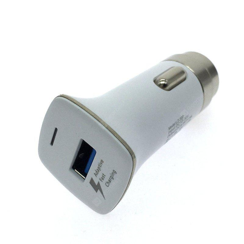 Qualcomm QC3.0 Metal Quick Charge One USB Intelligent Distribution of Current Safety Hammer Car Charger Built-in IC Protection 5 v / 3.1 A 9 v / 2 A 12 v / 1.6 A